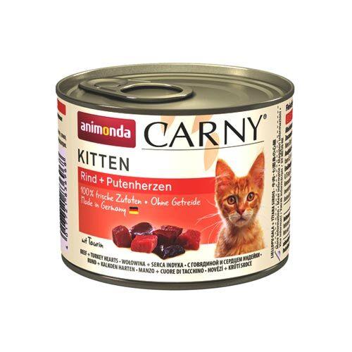 animonda carny kitten rind putenherz 200g zoo zajac. Black Bedroom Furniture Sets. Home Design Ideas