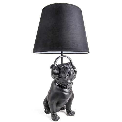 happy house lampe mit figur bulldogge zoo zajac. Black Bedroom Furniture Sets. Home Design Ideas