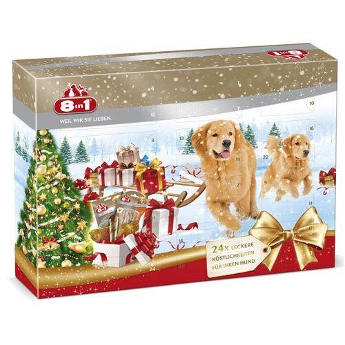 Weihnachtskalender Hund.8in1 Adventskalender Für Hunde 124g Günstig Zoo Zajac