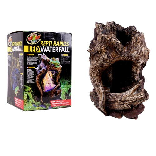 Zoo Med Repti Rapids Led Waterfall Wood Style S G 252 Nstig
