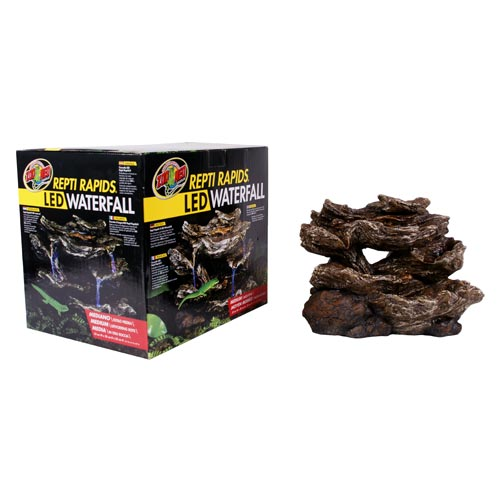 Zoo Med Repti Rapids Led Waterfall Rock Style M G 252 Nstig