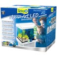 Tetra: AquaArt LED Discover-Line White Edition Aquariumkomplett-Set 20 Liter