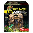 Zoo Med Repti Rapids LED Waterfall Large Rock Style  39x32x41cm