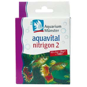 Aquarium Münster: Aquavital Nitrigon 2  10x2g