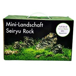 Aquadeco Mini-Landschaft Seiryu Rock für 60 L Aquarium