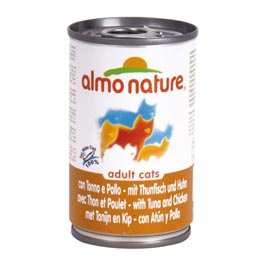 Almo Nature: Adult Cats Thunfisch und Huhn  140 g