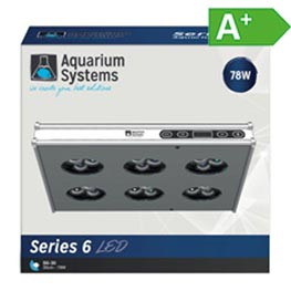 Aquarium Systems Series 6 30 LED Süßwasser  78W