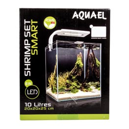 Aquael Shrimp Set Smart 2 10 schwarz 20x20x25cm  10l