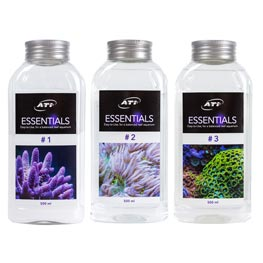 ATI Essentials 3er Set #1, #2 & #3  2x1000ml & 1x750g