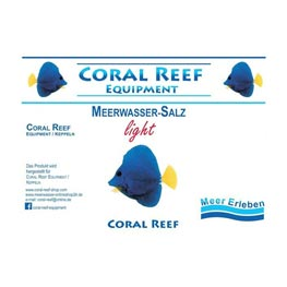 Coral-Reef Equipment Light Salz  7kg
