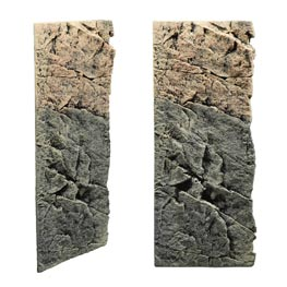 Back To Nature Slim Line Basalt Gneiss Rückwand 60C  20x55cm