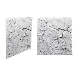 Back to Nature Slim Line White Limeston Rückwand 60A  50x55cm