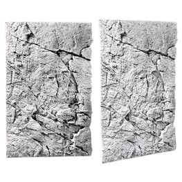 Back to Nature Slim Line White Limestone Rückwand 80A  48x80cm