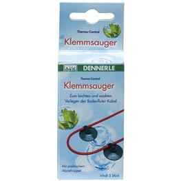 Dennerle: Thermo-Control Klemmsauger  5 Stk.