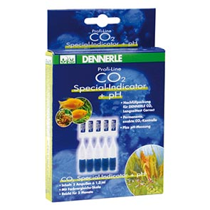 Dennerle: CO2 Special-Indicator + pH  5 Ampullen je 1,3 ml
