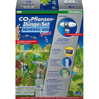 Dennerle: CO2 Pflanzen-Dünger-Set Mehrweg 600 Space ...