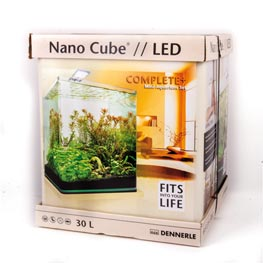 Dennerle: Nano Cube Complete+ LED 30  30x30x35cm