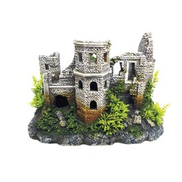 Nobby Aqua Ornaments Ruined Castle  272 x 163 x 185 mm