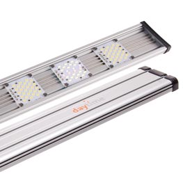Daytime: Cluster 80.2 LED Leuchte Ultra White 7.000 K  20 Watt