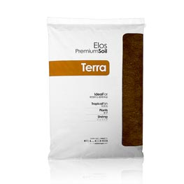 Elos: Premium Soil Medium Terra Brown Bodengrund 5 Liter