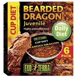 Exo Terra®: Bearded Dragon Cup Diet 150g