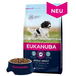 Eukanuba Active Adult Medium Breed  3 kg