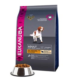 Eukanuba Adult Small Medium Breed mit Lamm Reis  2,5 kg