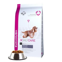Eukanuba: Daily Care Sensitive Skin Adult 1+  2,3kg