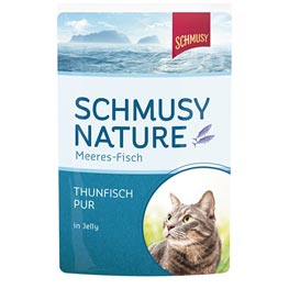 Schmusy Nature Meeres-Fisch Thunfisch Pur in Jelly  100 g