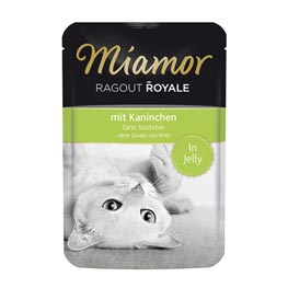 Miamor Ragout Royale in Jelly mit Kaninchen  100 g