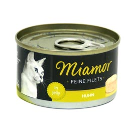Miamor Feine Filets in Jelly mit Huhn  100 g