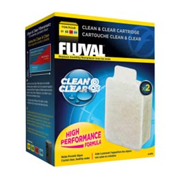 Fluval Clean & Clear Cartridge 2er-Pack