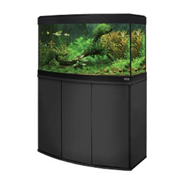 Fluval Aquarium Kombination Vicenza 180 LED schwarz