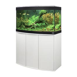Fluval Aquarium Kombination Vicenza 180 LED weiß