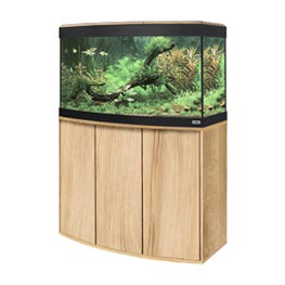 Fluval Aquarium Kombination Vicenza 180 LED kernbuche