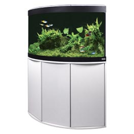Fluval Aquarium Kombination Venezia 190 LED weiß