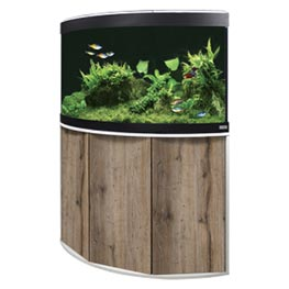 Fluval Aquarium Kombination Venezia 190 LED weiß / eiche