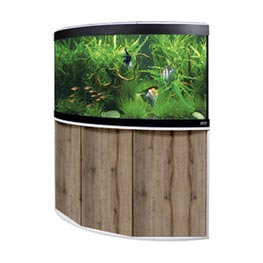 Fluval Aquarium Kombination Venezia 350 LED weiß / eiche