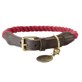 Hunter Halsband List bordeaux   Gr 70