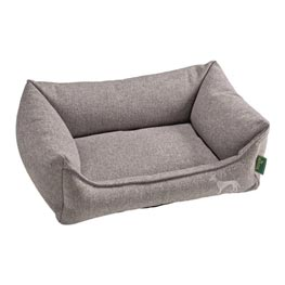 Hunter Hundesofa Prag Easy Clean Gr. L Grau  90x70cm