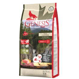 Genesis pure Canada Dog Trockenfutter Deep Canyon Adult  2,27kg