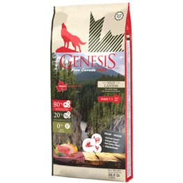 Genesis pure Canada Dog Trockenfutter Deep Canyon Adult  11,79kg