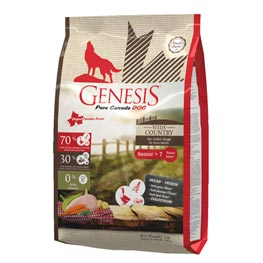 Genesis pure Canada Dog Trockenfutter Wide Country Senior  907g