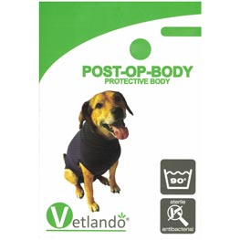 Vetlando: Post-OP Body S, dunkelgrau