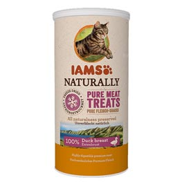 Iams Naturally Pure Meat Treats mit Ente  25g