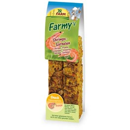 JR Farm Nagerfutter Farmy's Shrimps Garnelen  160g