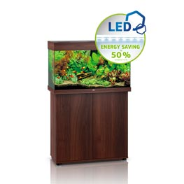 Juwel Rio 125 LED SBX dunkles Holz Aquariumkombination