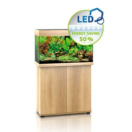 Juwel Rio 125 LED SBX helles Holz Aquariumkombination