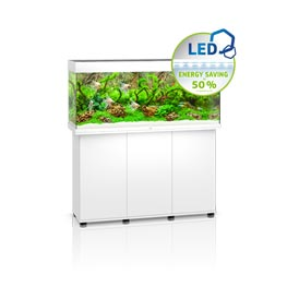 Juwel Rio LED 240 SBX Aquariumkombination  Weiß