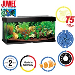 Juwel Rio 180 LED Aquarium Set  Schwarz